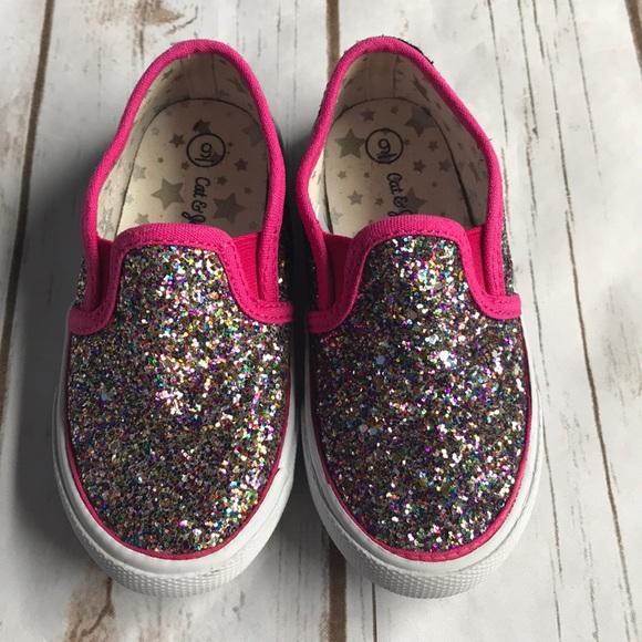 bd65051cb734 Cat   Jack Other - Toddler Cat   Jack Madigan Slip-on Glitter Sneaker